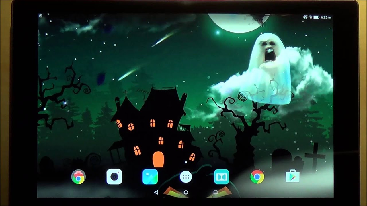 gallery of halloween live wallpaper android app