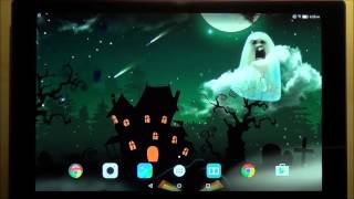 Halloween live wallpaper for Android phones and tablets