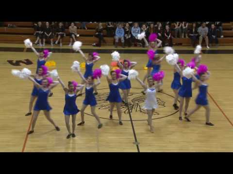 PNHS Poms - Princess Cinderella pom routine TDI dance cheer competition 2010 cheerleading children