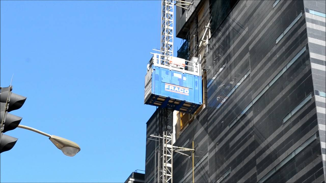 FRACO HIGH RISE CONSTRUCTION ELEVATOR