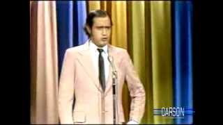 Andy Kaufman Foreign Man Impression, Part 1 on Johnny Carson's Tonight Show