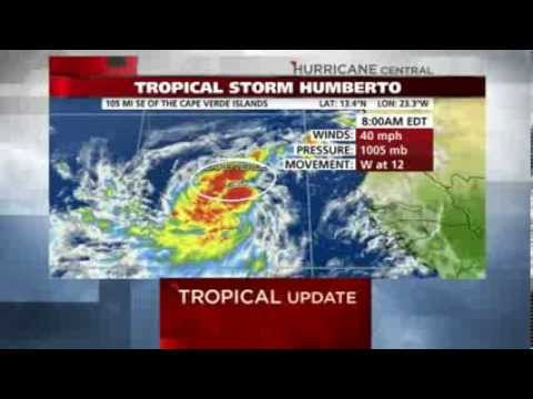 First Hurricane this Week?