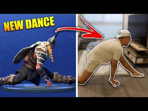 FORTNITE DANCE CHALLENGE IN REAL LIFE (ALL SEASON 5 DANCES)