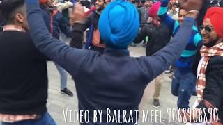Punjabi dance on dhol