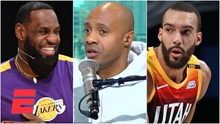 JWill reacts to LeBron selecting Rudy Gobert last for his All-Star team | KJZ