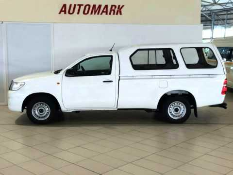 2013 TOYOTA HILUX 2.5 D-4D SINGLE CAB Auto For Sale On Auto Trader South Africa