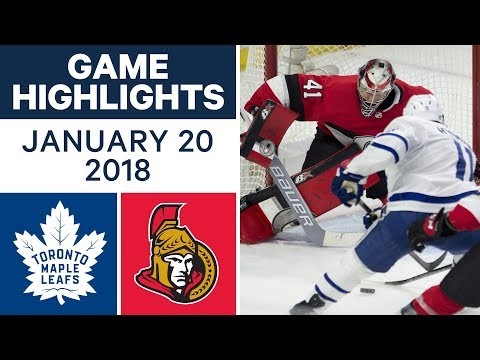 NHL game in 4 minutes: Maple Leafs vs. Senators