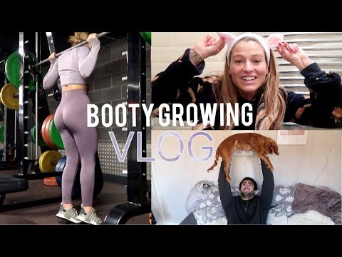 A HEAVY BOOTY WORKOUT & A BODYSHOP HAUL | Vlog