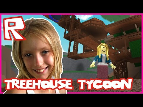 Treehouse Tycoon - CLIMBING A TREE | Roblox