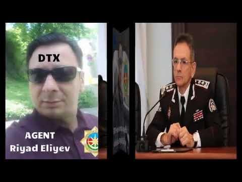 Dələduz Riyad Əliyevin DTX Agenti olmasıni sübut edən səs yazısı