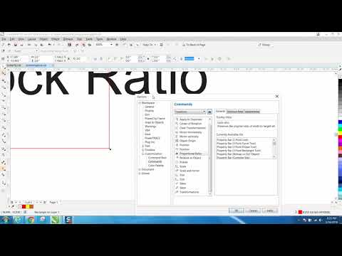 Corel Draw Tips & Tricks Icon on your workspace LARGER