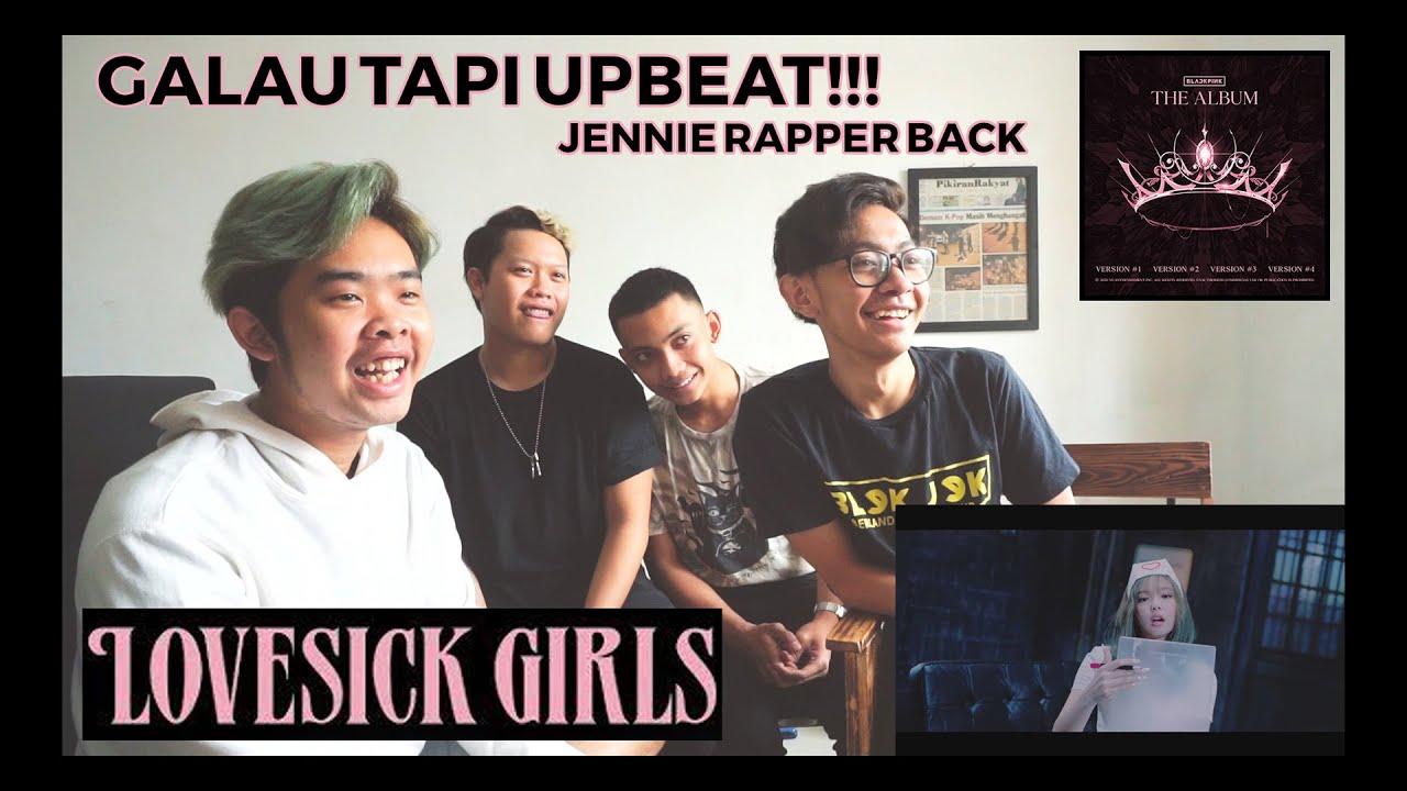 BLACKPINK – 'Lovesick Girls' M/V | BLEKJEK REACTION (INDONESIA)