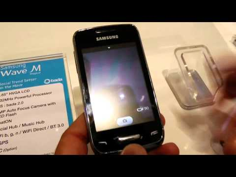 Samsung Wave Y bada 2.0 video preview da HDblog