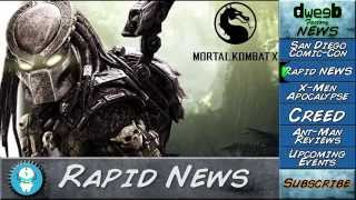 Ep. 5 -Dweebs Factory News:X-Men - Rapid News - Creed