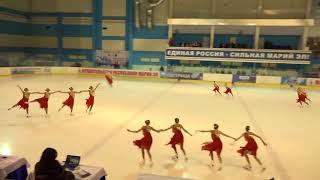 Чемпионат России по синхронному катанию  KMC  ПП 12 Юность ЕКБ