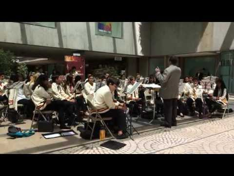 Alta Loma Middle School Band Embarcadero Center San Francisco California