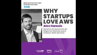 WebinarW: Why startups love AWS