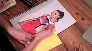 Santana- Speed Drawing