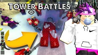 ROBLOX-We ALMOST CLOSED the GAME ⟪ Tower Battles ⟫