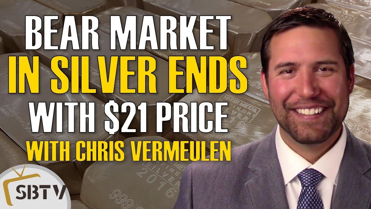 Chris Vermeulen - Silver Exits Bear Market Once It Goes Above $21