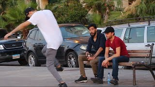 Tripping Over Nothing Prank