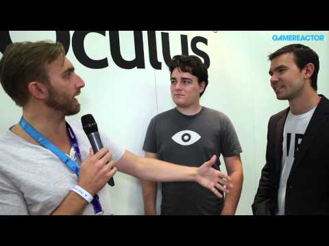 Oculus Rift - Palmer Luckey and Nate Mitchell Interview