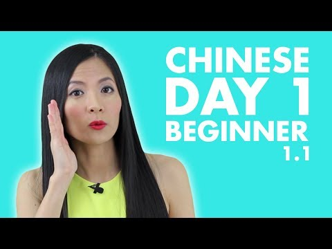 Learn Chinese for Beginners | Beginner Chinese Lesson 1: Sel
