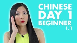 Learn Chinese for Beginners | Beginner Chinese Lesson 1: Self-Introduction in Chinese Mandarin 1.1