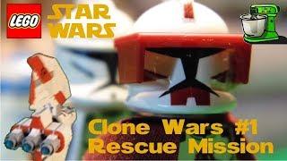 [Lego] Star Wars : Clone Wars #1 - Rescue Mission [English]