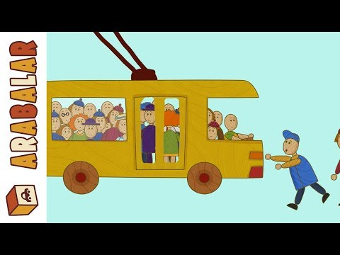 Çizgi Film Çocuklar Için Arabalar: Trafik Oyunları!