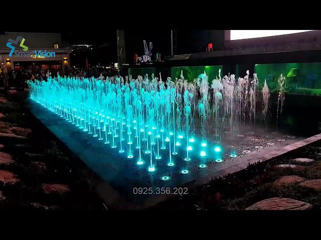 Sàn nhạc nước ma trận - Vân Đồn - Quảng Ninh