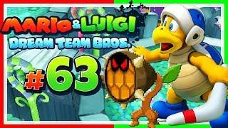 MARIO & LUIGI: DREAM TEAM BROS. # 63 💤 Suche nach den Somnam-Steinen der Kisso-Meister! [HD60]
