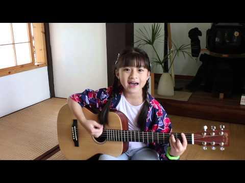 キセキ Kiseki - GReeeen Guitar Acoustic Cover By Gail Sophicha 9 Years Old. น้องเกล
