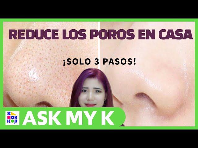 Ask My K : Hanna Coreana -How to remove open pores