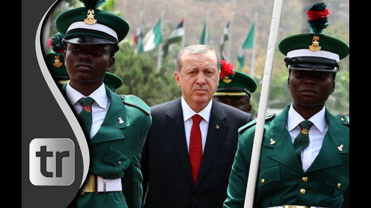 Staatsempfang Präsident Erdoğan in Nigeria & Präsident Muhammadu Buhari 2016
