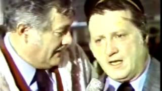 Post Game 1976 ALCS Gm  5 Celebration with Frank Messer, WPIX TV, 10 14 1976