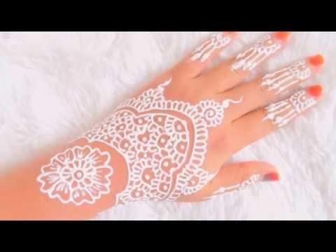 Simple White Henna ( Belajar Henna Untuk Pemula ) #4