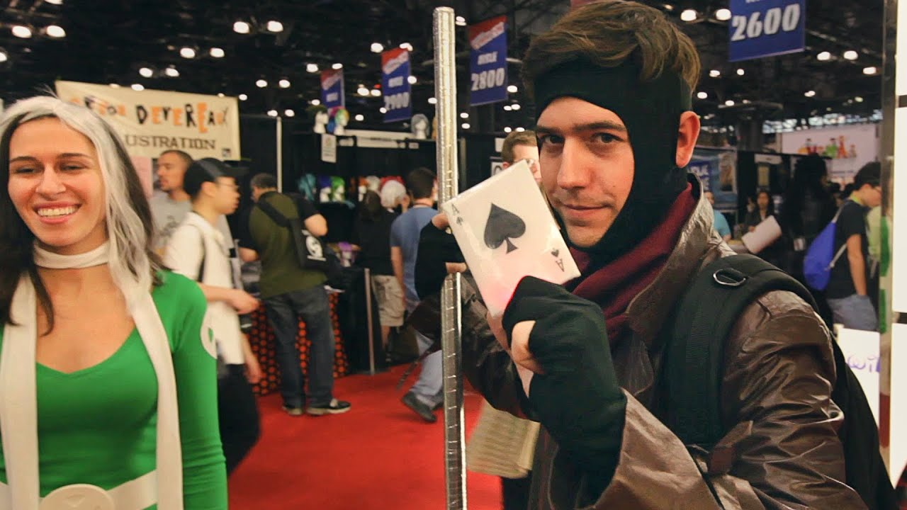 Cosplay Gambit and Rogue  sc 1 st  YouTube & Cosplay: Gambit and Rogue - YouTube
