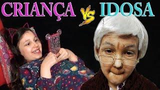 CRIANÇA VS IDOSA !!! | Luluca