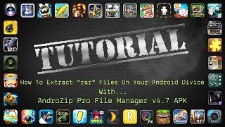 Download lagu How To Extract rar Files And Install apk + Obb Files On a Android Device