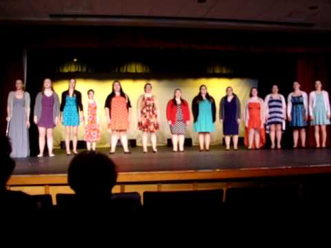 Bonse Aba  Zambian traditional song Bay Path College Chorale