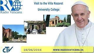 Visit to the Villa Nazareth University College - 2016.06.18