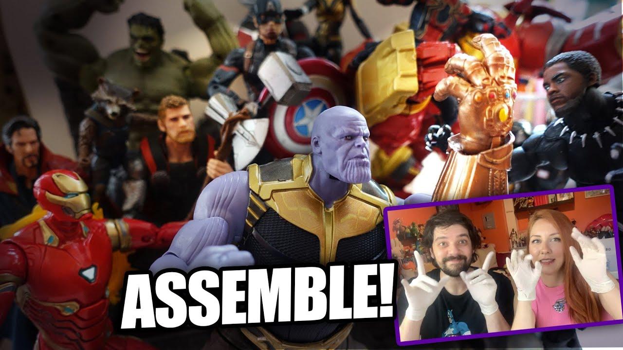 Avengers Yeniden Toplanıyor, Hem de Benim Evimde! 5.000 TL'lik 20 MARVEL FİGÜRÜ AÇTIK!