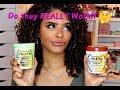 ChellisCurls | #MaskMonday NEW Garnier Fructis 1 Minute Hair Mask Review