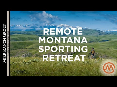 Montana Ranches For Sale - Trout Creek Ranch (Truly End-of-the-Road!)