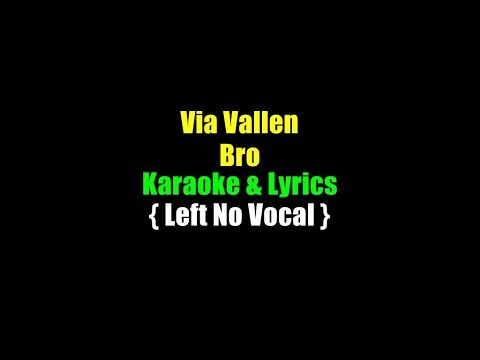 via-vallen---bro---karaoke-&-lirik---left-no-vocal
