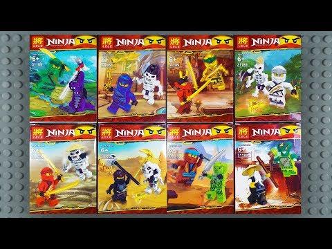 LEGO Ninjago Legacy Sets Minifigures (knock-off) LELE 31189