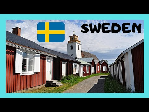 SWEDEN: The spectacular UNESCO CHURCH TOWN of GAMMELSTAD, Luleå