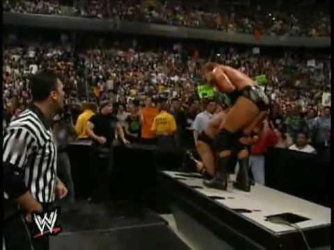 WWE/F The Rock VS Triple H Backlash Highlights(HQ)
