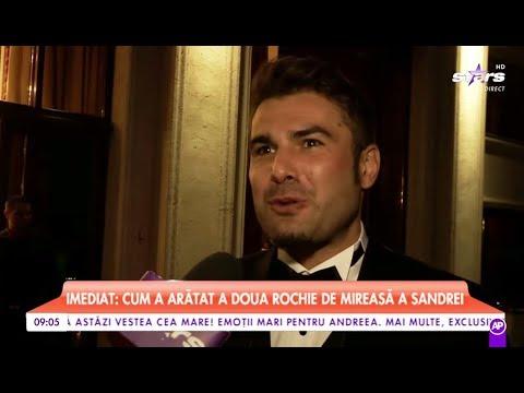 """Imagini nedifuzate de la nunta lui Adrian Mutu. """"Briliantul"""", declarație de dragoste pentru Sandra"""